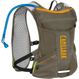 CamelBak Chase Bike Gilet d'hydratation 1,5L, shadow grey/iceland poppy